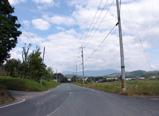 閑静な田舎道