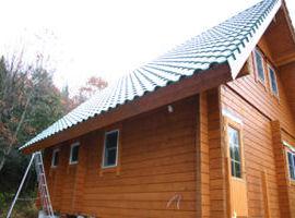きれいな瓦葺き屋根