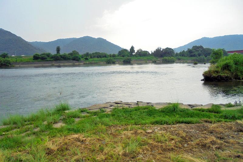 雄大な吉井川