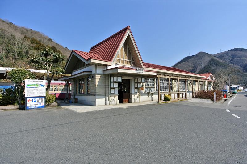 旧片上鉄道吉ケ原駅