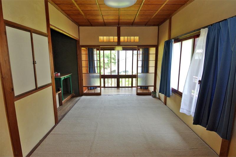 昭和レトロな雰囲気漂う一室