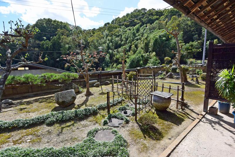 素朴な日本庭園♪