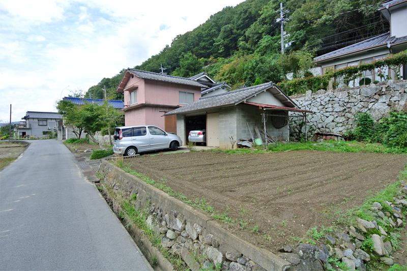 付属農地と車庫