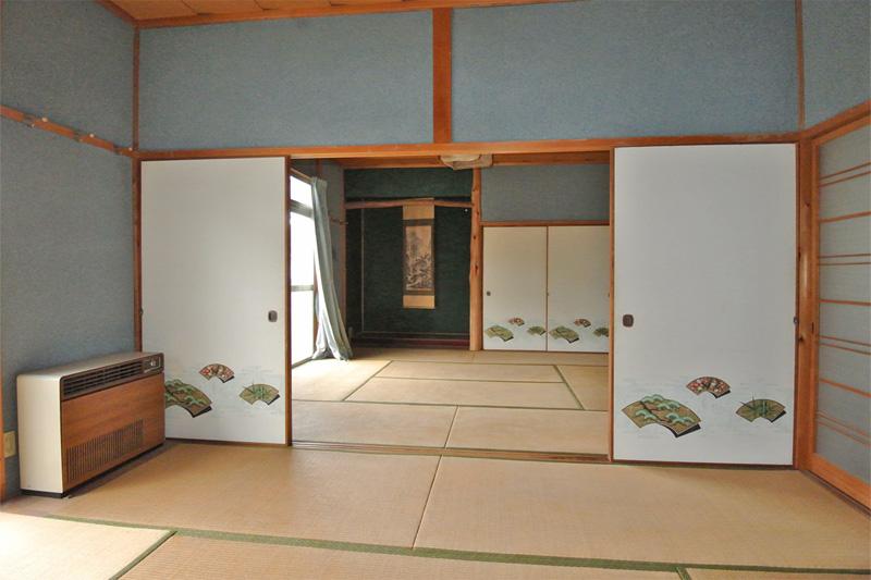 2階・和室の続き間(北側)