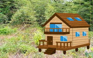 建築可能山林物件