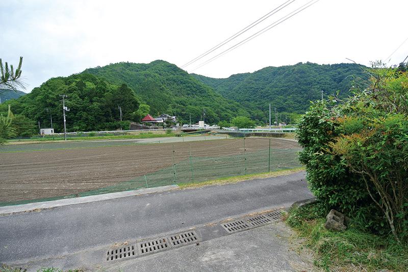 敷地からの眺め