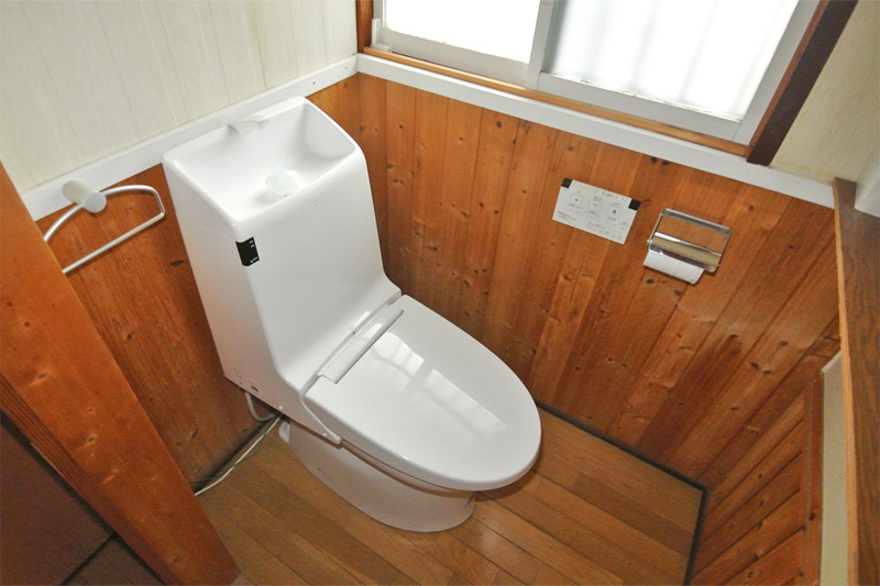 水洗トイレ