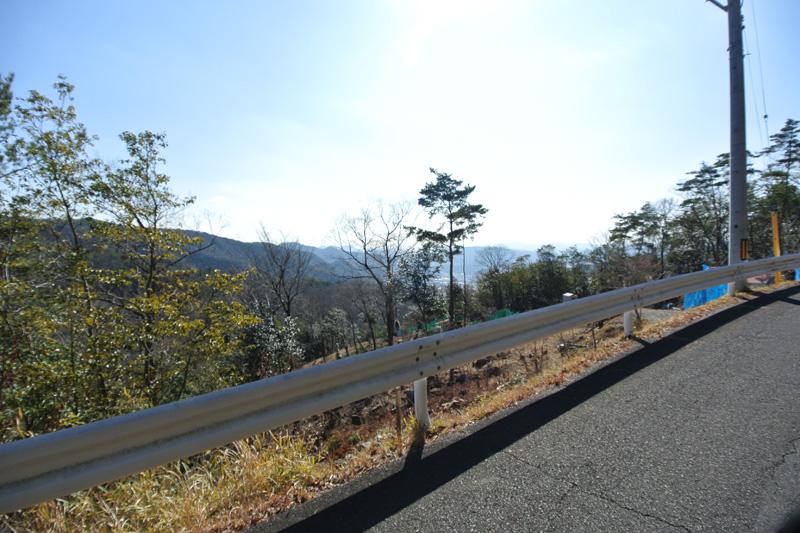接面道路からの眺望